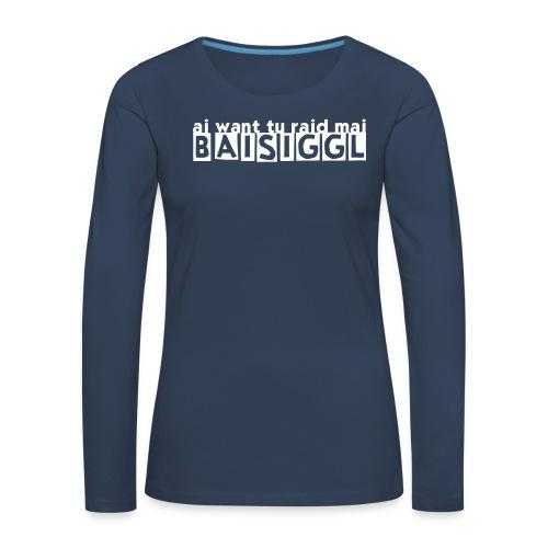 BAISIGGL Damen Langarm Shirt - Frauen Premium Langarmshirt