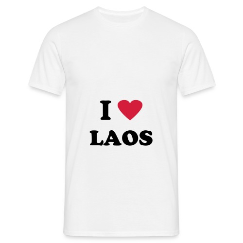 I LOVE LAOS - T-shirt Homme