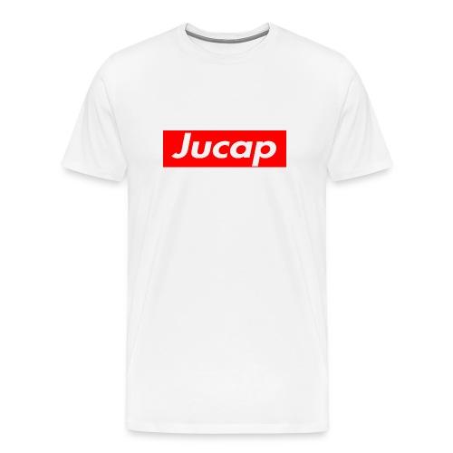 Jucap T-Shirt Men White - Männer Premium T-Shirt