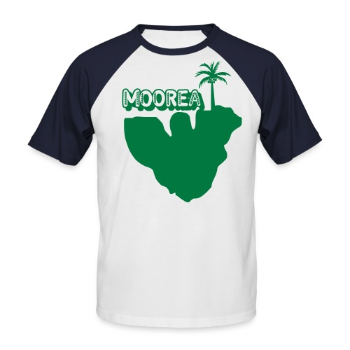 MOOREA COCOTIER T-SHIRT - T-shirt baseball manches courtes Homme