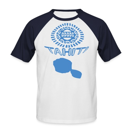 TAHITI TATTOO T-SHIRT - T-shirt baseball manches courtes Homme