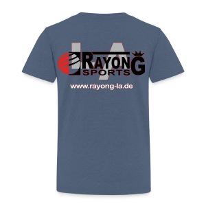 Kinder Premium Shirt Logo Rayong LA hinten - Kinder Premium T-Shirt