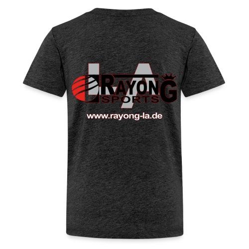 Teenager Premium Shirt Logo Rayong LA hinten - Teenager Premium T-Shirt