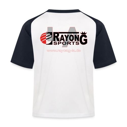 Kinder Baseball Shirt Rayong Logo hinten - Kinder Baseball T-Shirt