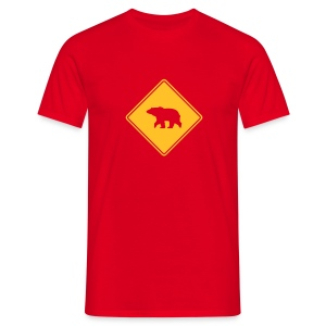 B.2003 Original in red - Men's T-Shirt