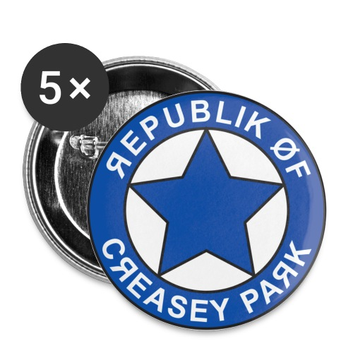 Republik of Creasey Park Button - Buttons small 1''/25 mm (5-pack)