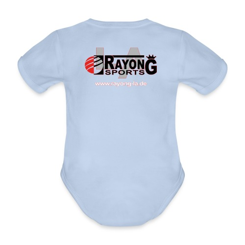 Baby Bio Kurzarm Body Rayong LA Logo beidseitig - Baby Bio-Kurzarm-Body