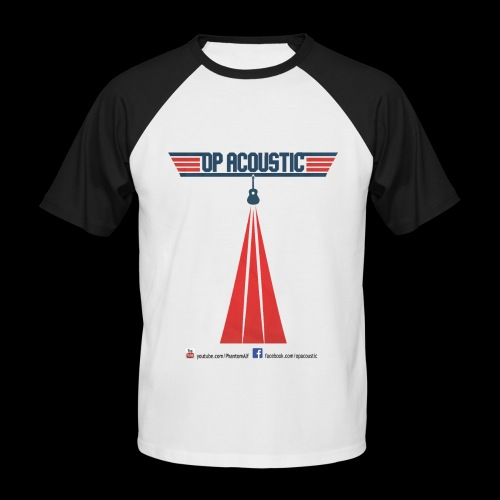 OpAcoustic Top Gun Spoof tee - Men's Baseball T-Shirt
