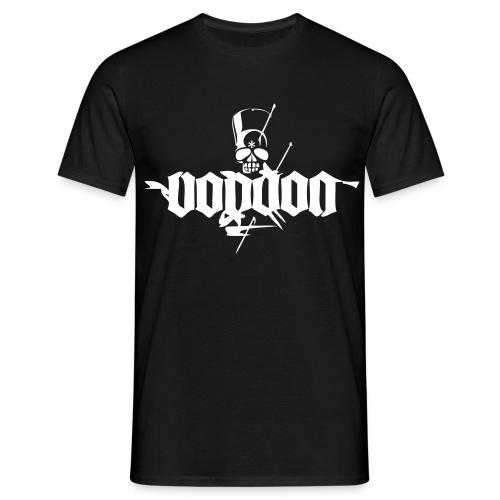 Voodoo Basic Black - Männer T-Shirt