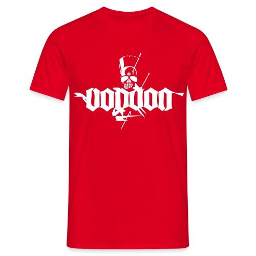Voodoo Basic Red - Männer T-Shirt