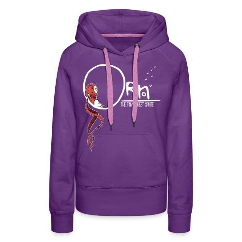 ORN CHILL SKETCH WOMENS HOODIE - Women's Premium Hoodie