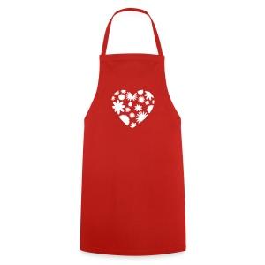 Herz-Schürze - Kochschürze