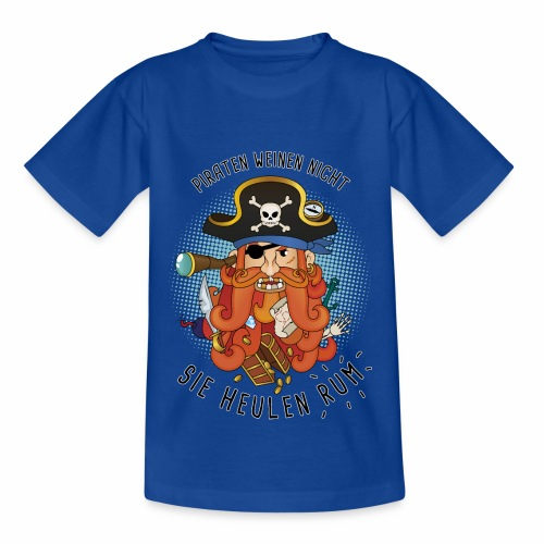 Kinder T-Shirt Pirat - Kinder T-Shirt