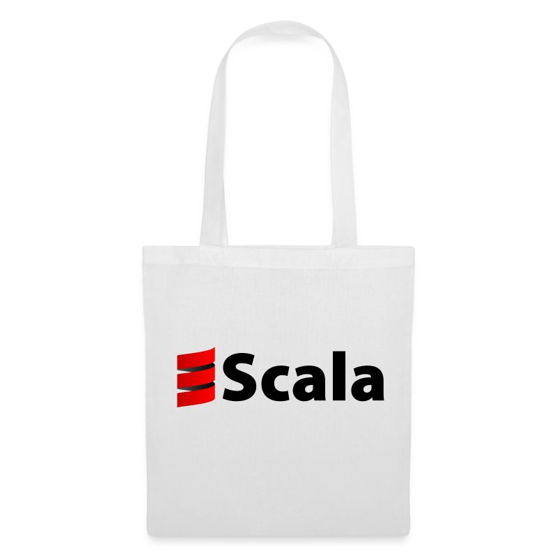 Tote Bag with Black Scala Logo - Tote Bag