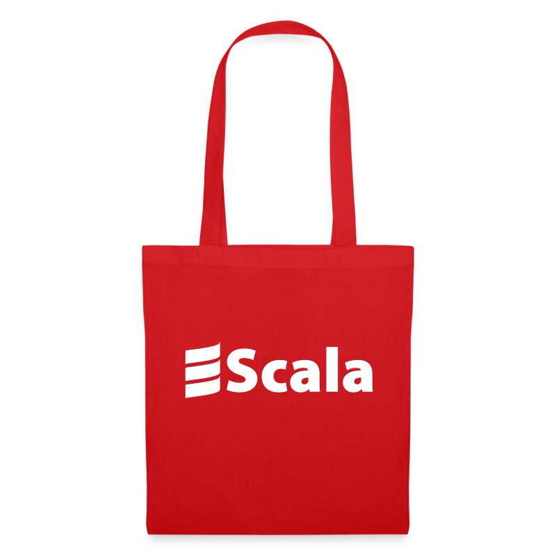 Tote Bag with Plain White Scala Logo - Tote Bag
