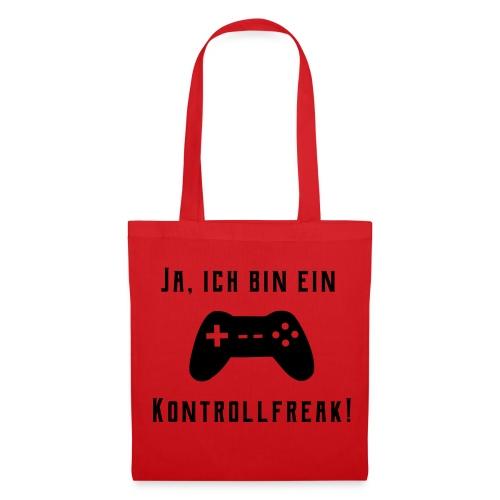 Gamer Controller Kontrollfreak Taschen & Rucksäcke - Stoffbeutel