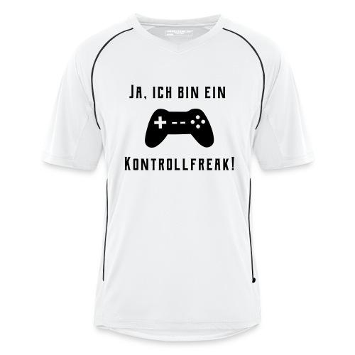 Gamer Controller Kontrollfreak T-Shirts - Männer Fußball-Trikot