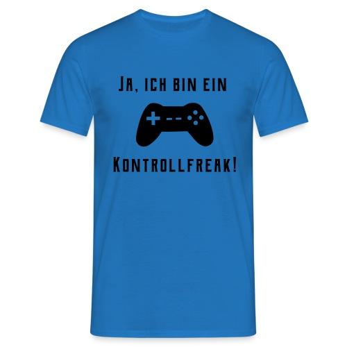 Gamer Controller Kontrollfreak T-Shirts - Männer T-Shirt