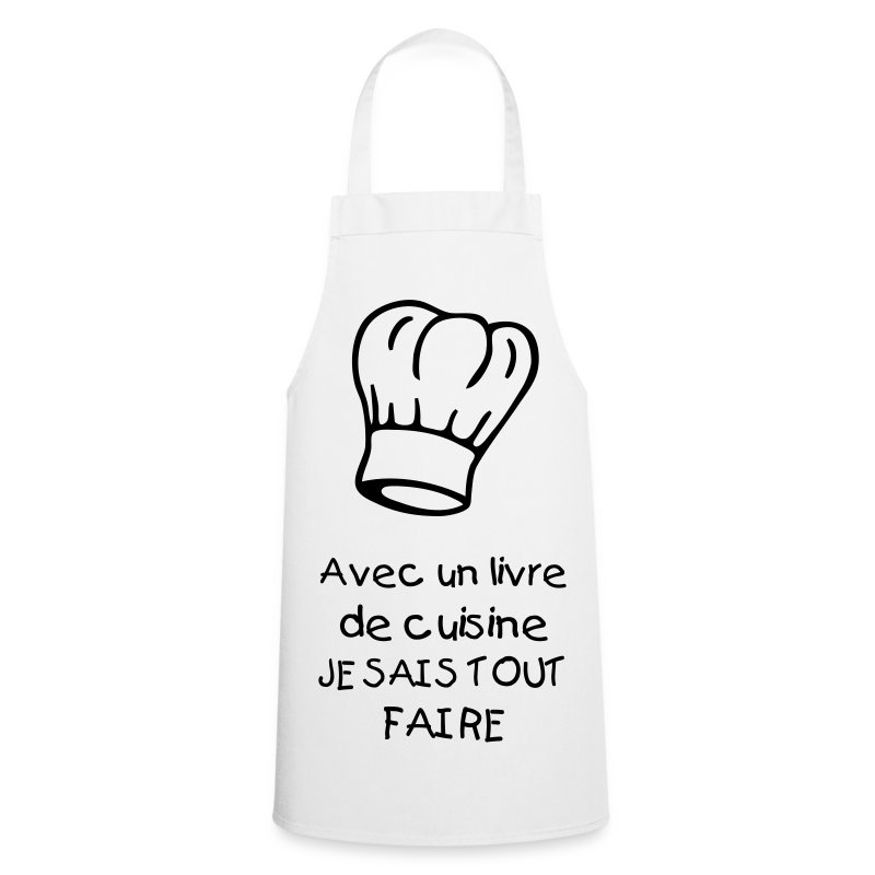 Tablier de cuisine conceptions de maison for Tablier de cuisine paris