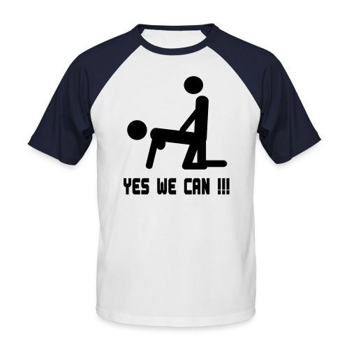 Yes We Can - Men's Baseball T-Shirt