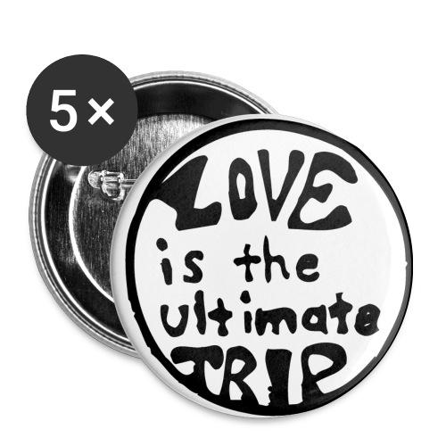 Love Trip - Buttons medium 32 mm