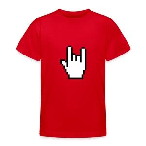 Handzeichen Cursor   - Teenager T-Shirt