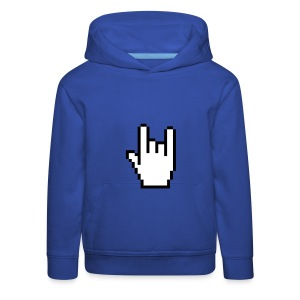 Handzeichen Cursor   - Kinder Premium Hoodie