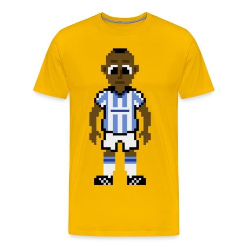 Peter Ndlovu Pixel Art T-shirt - Men's Premium T-Shirt