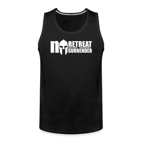 No Retreat, No Surrender Calisthenics Classic - Men's Premium Tank Top