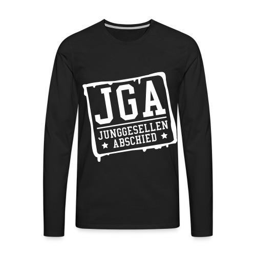 JGA Junggesellenabschied - Männer Premium Langarmshirt