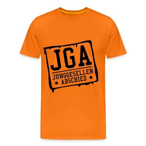 JGA Junggesellenabschied - Männer Premium T-Shirt