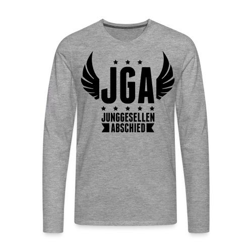 JGA - Männer Premium Langarmshirt