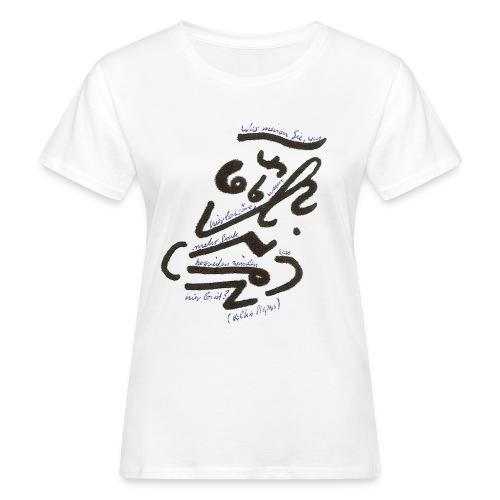 Was hier los wäre - Frauen Bio-T-Shirt