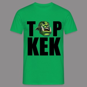 Top Kek cerne - Men's T-Shirt