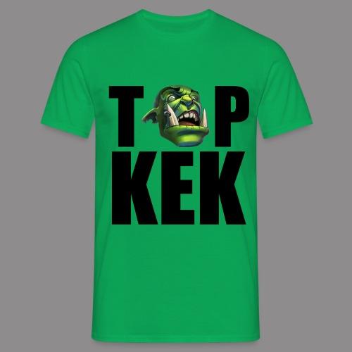 Top Kek cerne - Men's T-Shirt