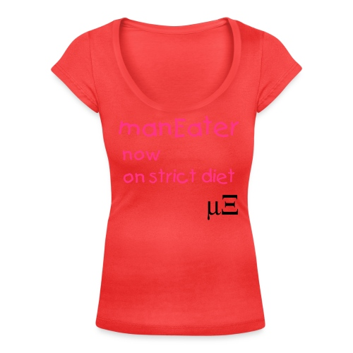 manEater - Women's Scoop Neck T-Shirt