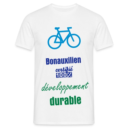 bonauxilien 100% dev durable - T-shirt Homme