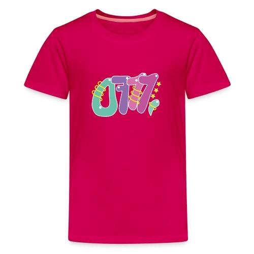 Kindershirt 0711 - Teenager Premium T-Shirt