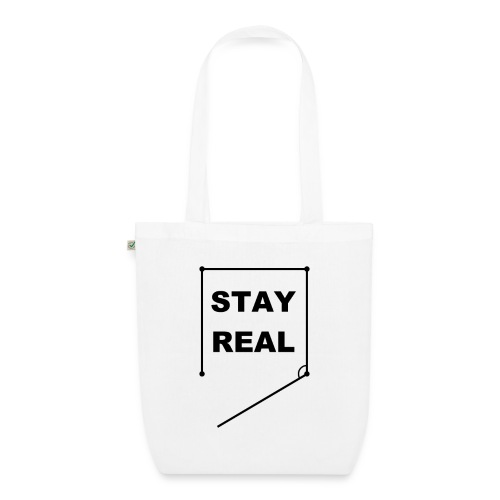 STAY REAL Bag (Earth Positive) - EarthPositive Tote Bag
