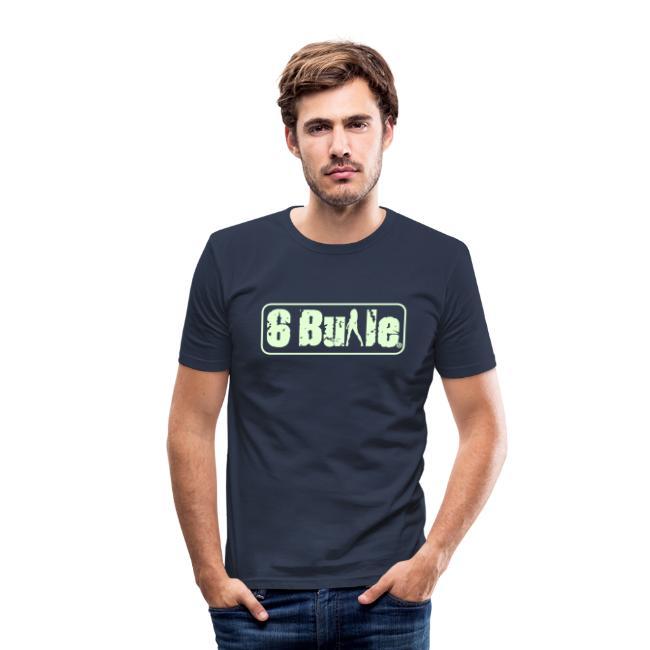 6Bulle Night Club 'Fluo la nuit' / T-Shirt près du corps