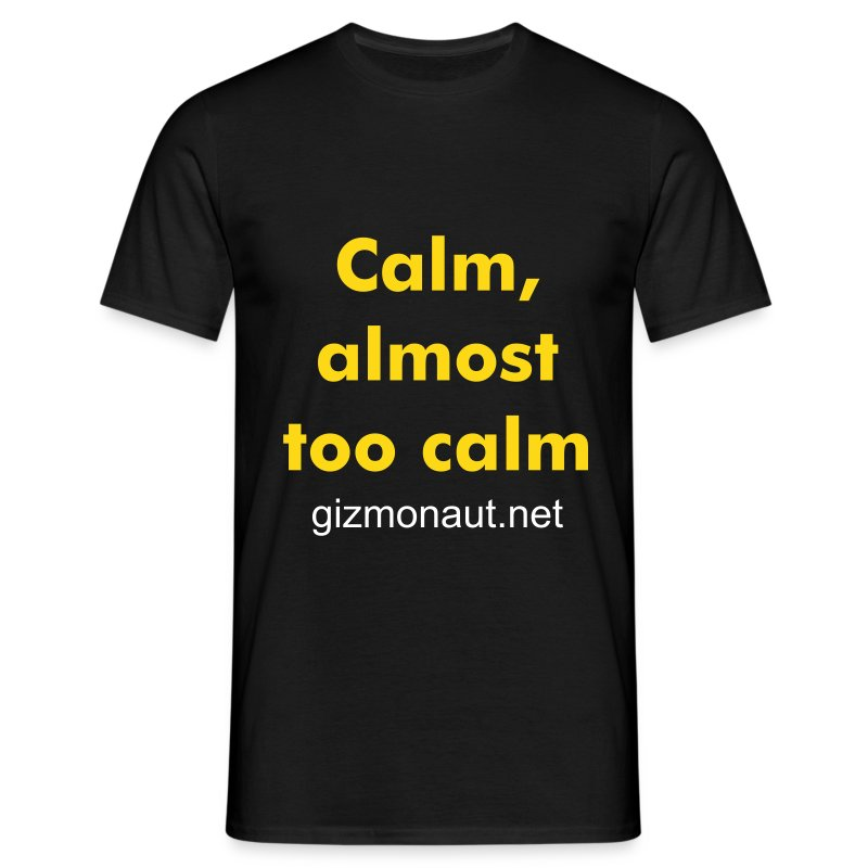 Calm - yellow - Men's T-Shirt