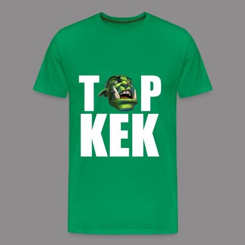 Top Kek Bily Premium - Men's Premium T-Shirt