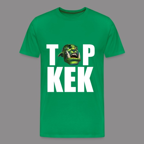 Top Kek Bily Premium - Men's Premium T-Shirt