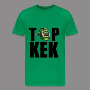 Top Kek cerny Premium - Men's Premium T-Shirt