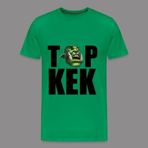 Top Kek cerny Premium - Men's Premium T-Shirt