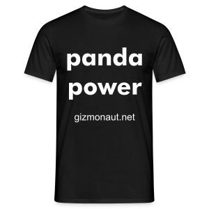 panda power - Men's T-Shirt