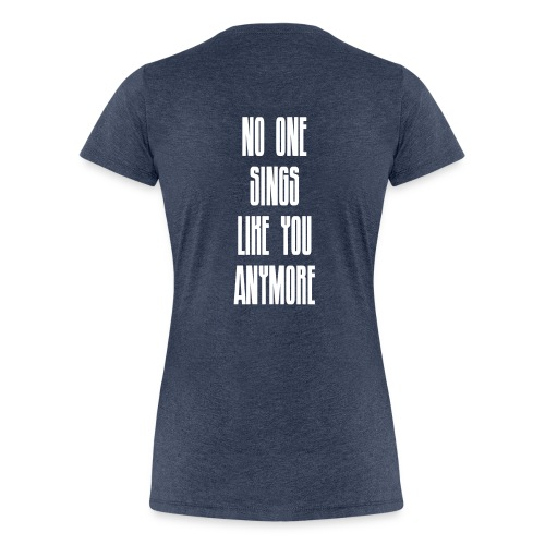 Ladies Black Hole Sun Skull - Premium Edition - Women's Premium T-Shirt