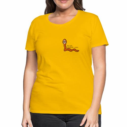 Lieblings-Wurm - Frauen Premium T-Shirt
