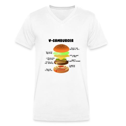 V - gamburger - T-shirt bio col V Stanley & Stella Homme
