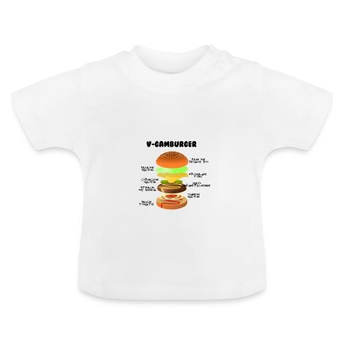 V - gamburger - T-shirt Bébé